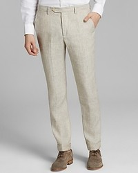 Kent & Curwen Classic Fit Linen Stripe Pants