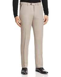 Armani Collezioni Linen Blend Regular Fit Trousers