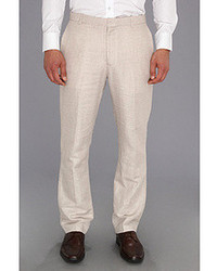 Perry Ellis Linen Cotton Herringbone Suit Pant