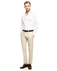 Mango Outlet Linen Cotton Blend Suit Trousers