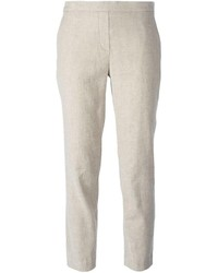Theory Thaniel Cropped Trousers