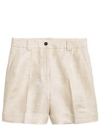 Linen blend shorts medium 5031178