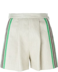 MSGM Stripe Detail Shorts