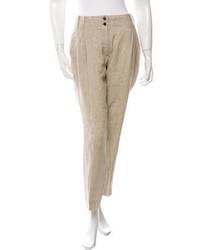 Façonnable Pleated Linen Pants