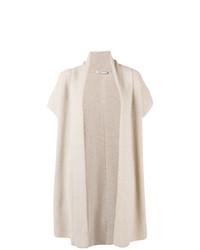 Agnona Long Short Sleeve Cardigan
