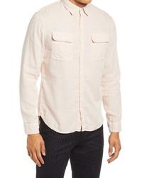 Vince Classic Fit Button Up Shirt