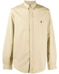 Polo Ralph Lauren Embroidered Logo Cotton Shirt