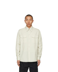 Lemaire Green Military Shirt