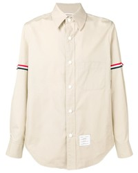 Thom Browne Grosgrain Armband Shirt Jacket