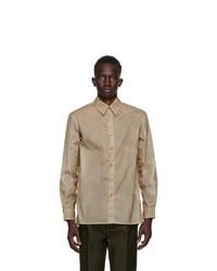 Uniforme Paris Khaki Econyl Waxed Shirt