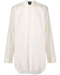 Ann Demeulemeester Loose Band Collar Shirt