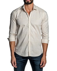 Jared Lang Regular Fit Plaid Button Up Shirt