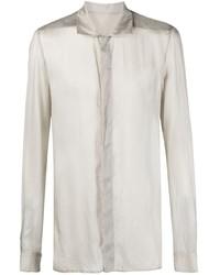 Rick Owens Sheer Long Sleeved Shirt