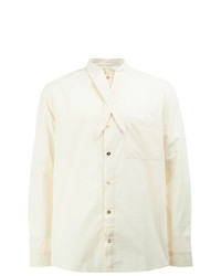 By Walid Tie Collar Shirt