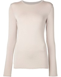 Beige long sleeve t shirt original 1287681