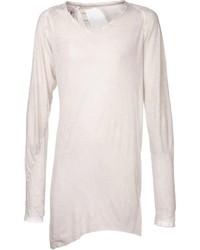 Beige Long Sleeve T-Shirt