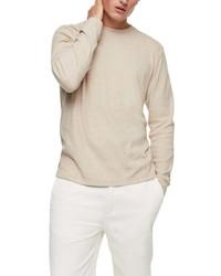 Topman Long Sleeve Rib T Shirt