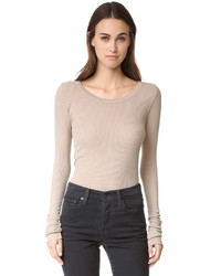 Long sleeve rib tee medium 964453
