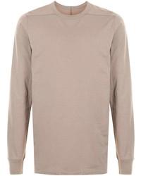 Rick Owens Longsleeved Cotton T Shirt