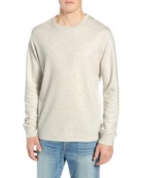 Frame Slim Fit Long Sleeve Crewneck T Shirt