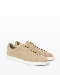 Club Monaco Zespa Suede Low Top Sneaker