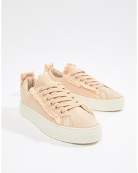 Glamorous Lace Up Trainer
