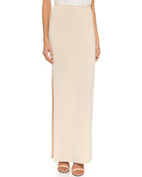 Alice + Olivia Air By Double Slit Maxi Skirt