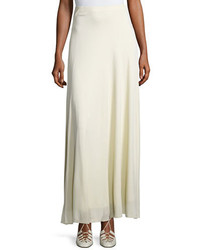 Skavel jersey maxi skirt neutral medium 1161428