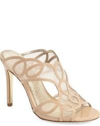 Adrianna Papell Glam Mesh Patent Sandal