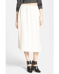Beige midi skirt original 1474953