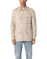 Linen military jacket medium 3725985
