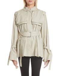 Proenza Schouler Pocket Detail Cotton Blend Jacket