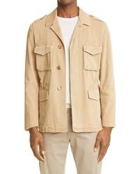 Boglioli Stretch Cotton Field Jacket