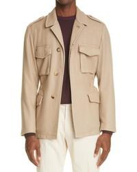 Boglioli Wool Blend Field Jacket