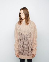 Ocean oversized mohair knit medium 141054