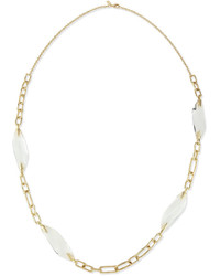 Alexis Bittar Crystal Station Link Necklace 42l