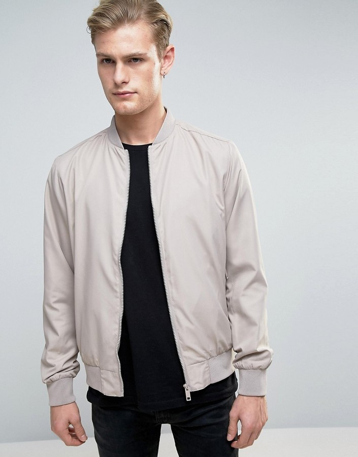 Brave Soul Nylon Lightweight Bomber Jacket | Where to buy & how to ...