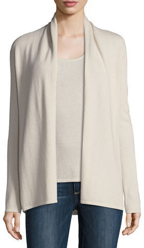 dad5517db6 ... Neiman Marcus Cashmere Collection Open Cashmere Cardigan ...