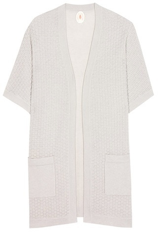 Jardin Des Orangers Wool And Cashmere Open Cardigan
