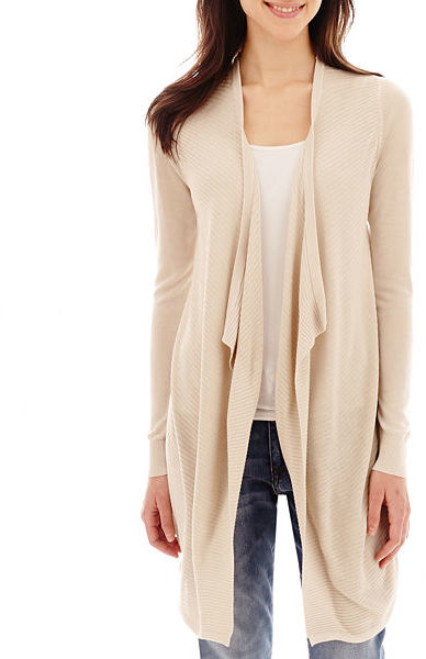 ... MNG by Mango Long Sleeve Open Front Cardigan ... dab4168ef