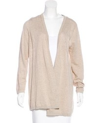 Sandro Pleated Open Front Cardigan