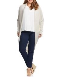 Tart Plus Size Darla Linen Blend Open Cardigan