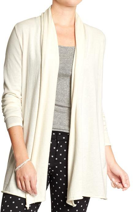 Old Navy Shawl Collar Open Front Cardigans | Where to buy & how to ...