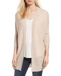 Three quarter sleeve cashmere cardigan medium 6752529