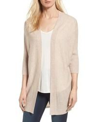 Three quarter sleeve cashmere cardigan medium 6752529