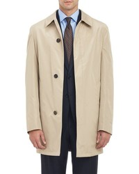 Aquascutum London Aquascutum Self Packing Bryon Topcoat Nude
