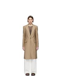 Givenchy Beige Silk Coat