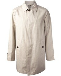 Burberry Brit Single Breasted Trench Coat