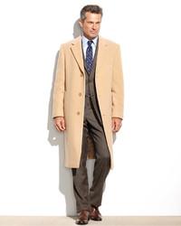 Columbia cashmere blend overcoat medium 144657