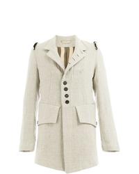 Ann Demeulemeester Deconstructed Shoulder Coat